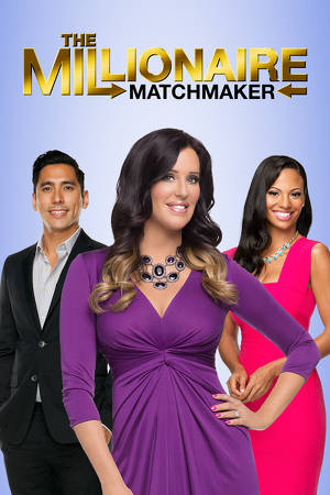 "cover design for ""The Millionaire Matchmaker"""