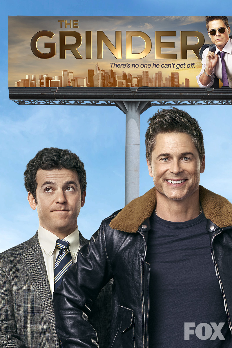 The Grinder: Season 1 Episode 13 - Grinder V. Grinder