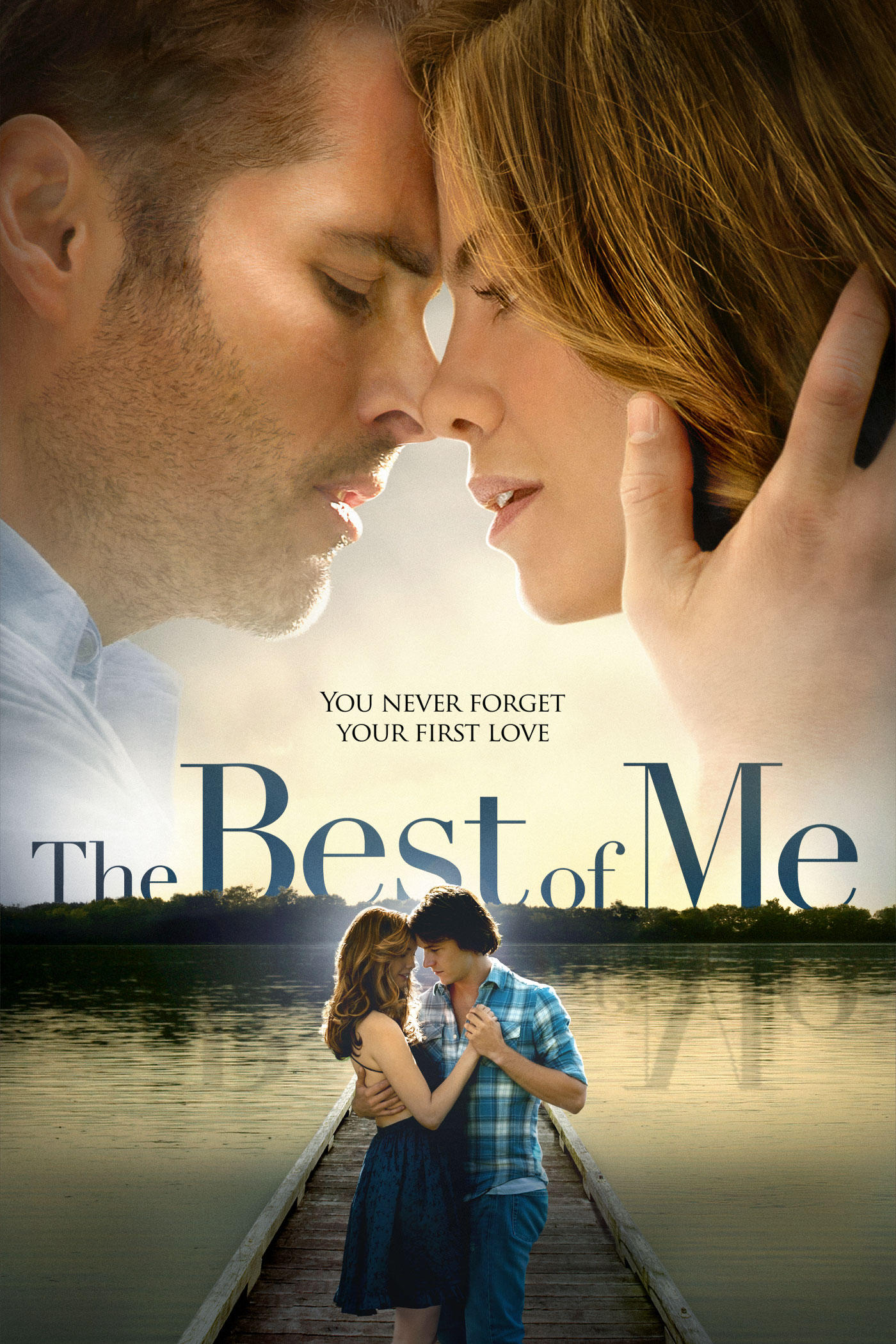 "cover design for ""The Best of Me"""