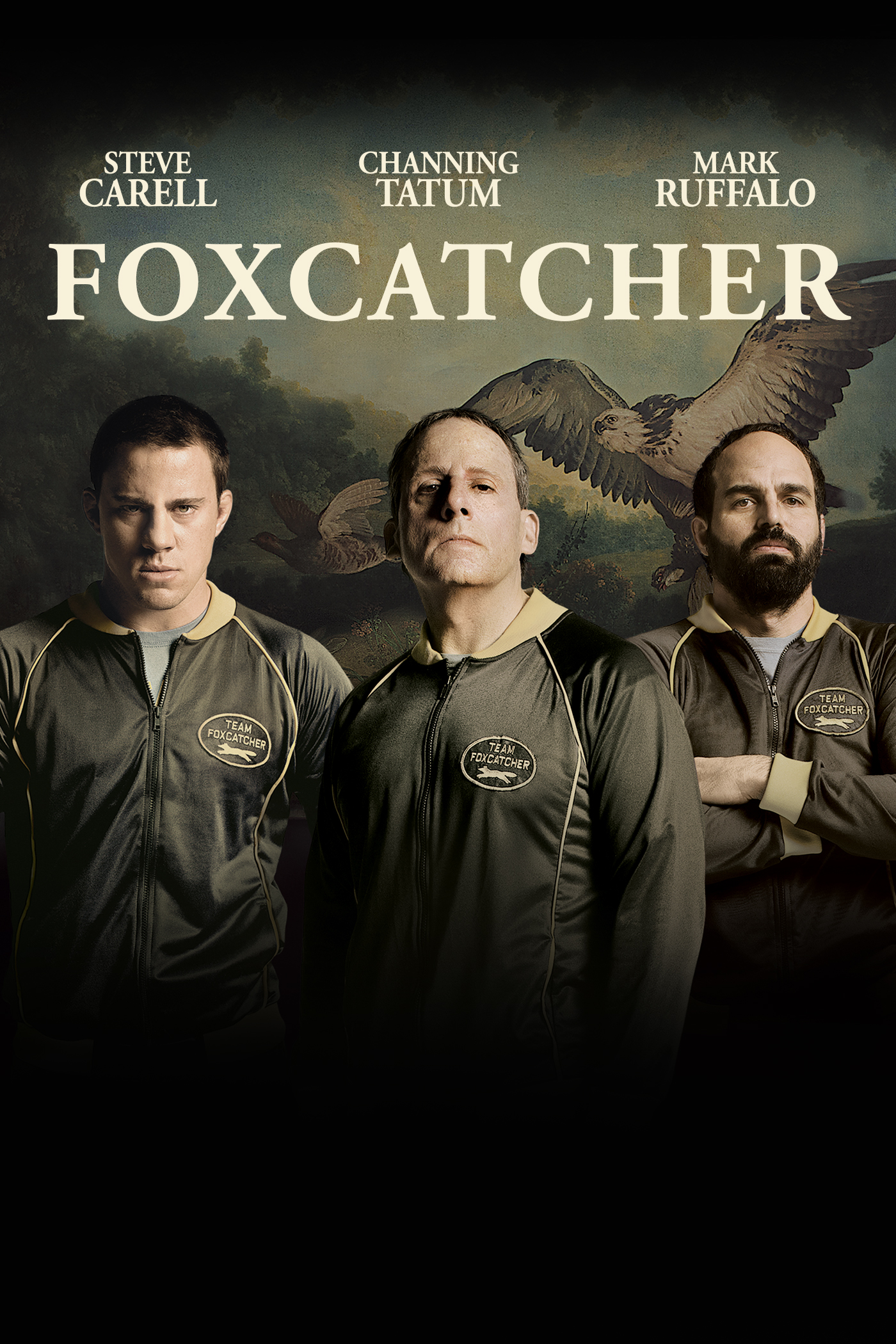 "cover design for ""Foxcatcher"""