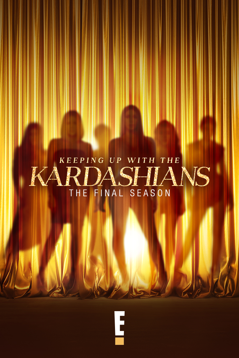 "cover design for ""Keeping Up with the Kardashians"""