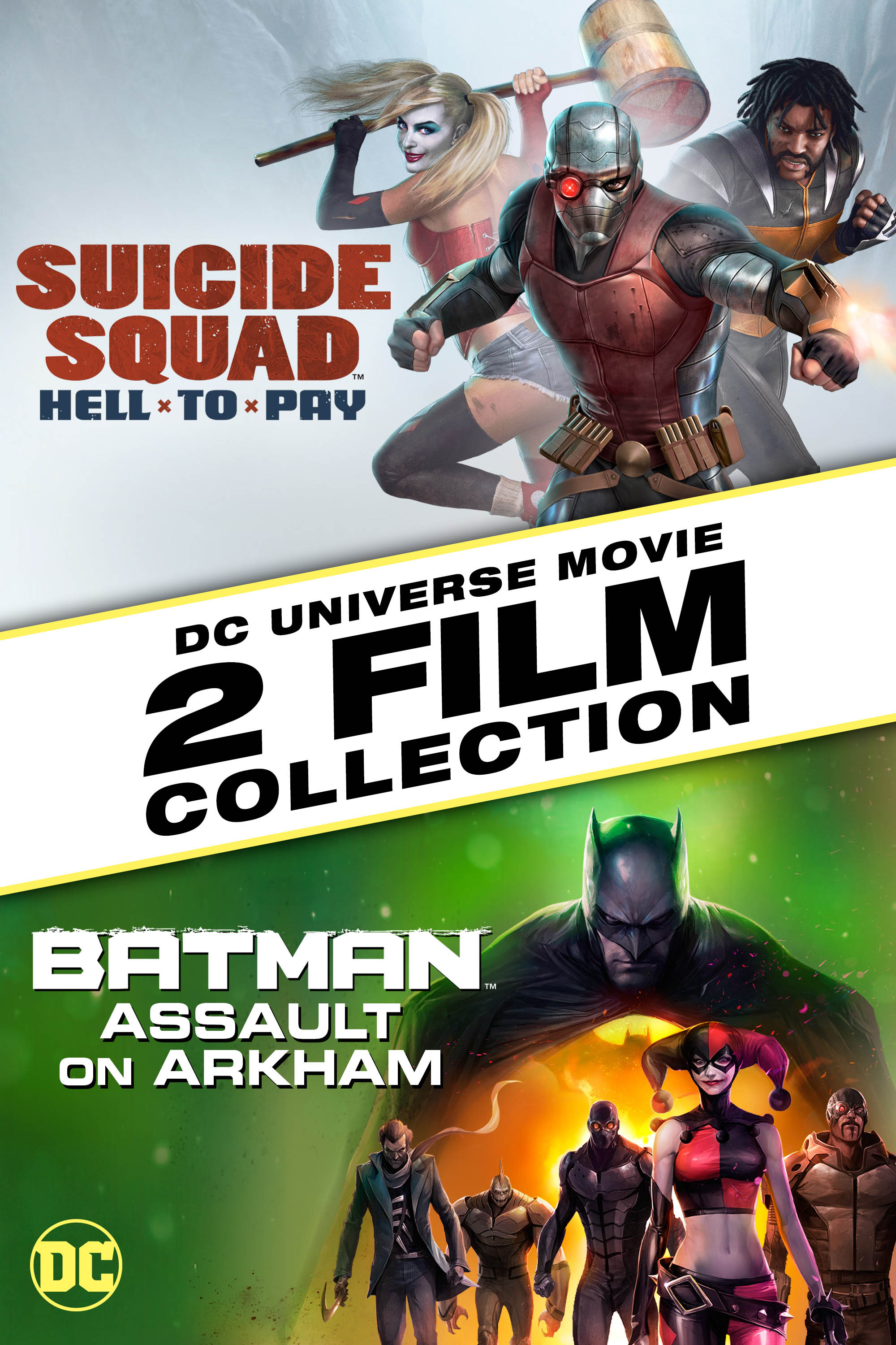 Suicide Squad Hell To Pay Batman Assault On Arkham 2 Film Bundle Buy Rent Or Watch On Fandangonow