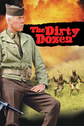 World War II. An impossible mission... The fate of the Allied invasion hanging in the balance... 12 men with nothing left to lose. Now the fate of the free world depends on a group of convicted murderers, thieves and thugs--The Dirty Dozen. Twelve American military prisoners are offered parole--if they complete a suicide mission behind enemy lines just before D-Day. After weeks of grueling training, they are dressed in German uniforms, dropped deep behind enemy lines and left on their own to complete their mission and try to get out alive. Based on the novel by E.M. Nathanson.